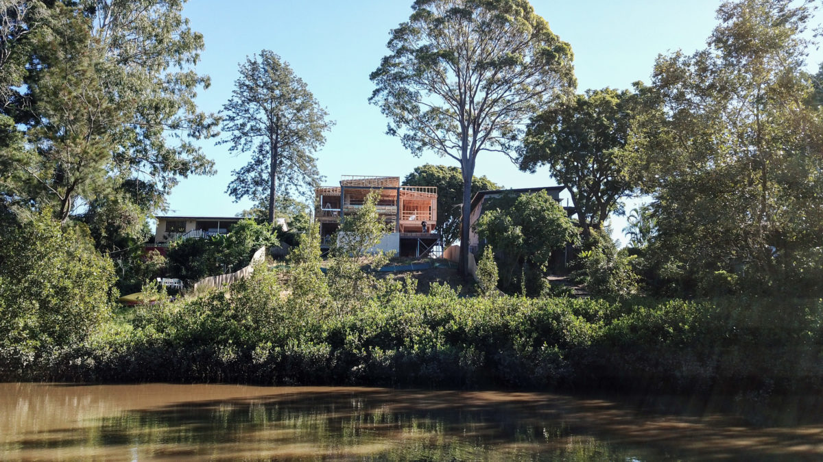 Grace – Soaring and Custom River Home